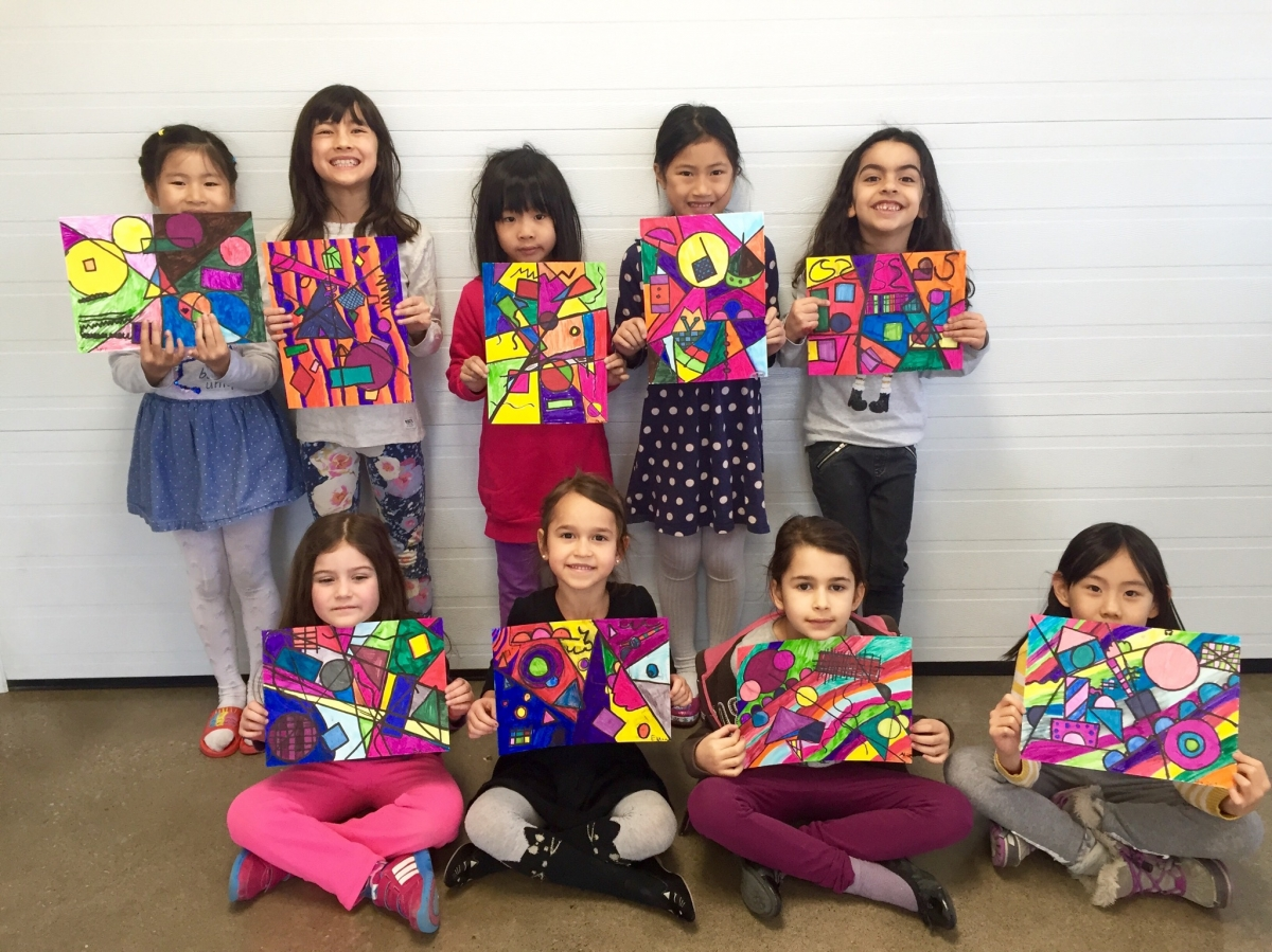Art classes for kids richmond hill art school for Craft classes for toddlers