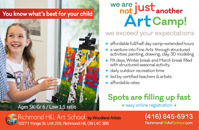fine arts camp : Flyer - we are not just another camp