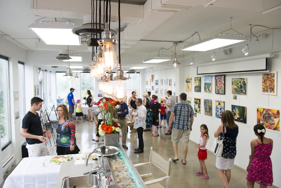 Special Event Art Expo, art studio