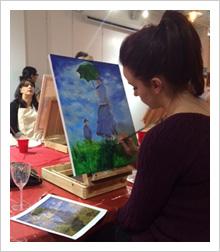 Social Painting: Interpretation of Monet