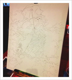 Social Painting: Outline of a painting
