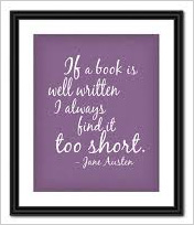 Art or Literature: Quote by Jane Austen