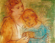 social painting Mother's Love