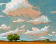 social painting big skies