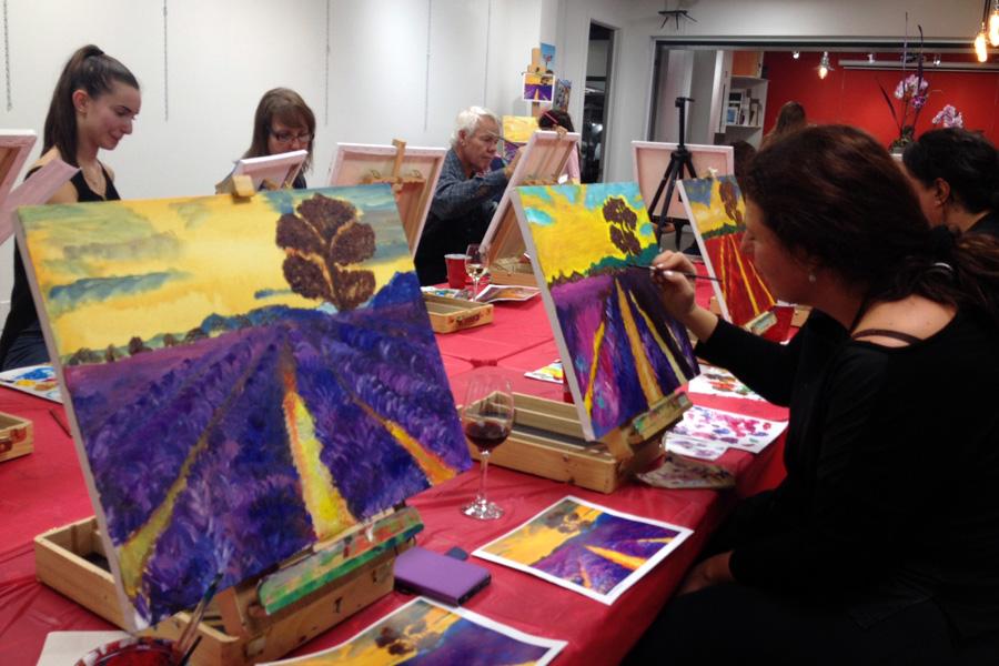 art classes for adults & teens - Richmond Hill Art School